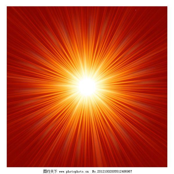 矢量阳光放射光线背景 矢量阳光放射光线背景免费下载 发光背景 矢量素材