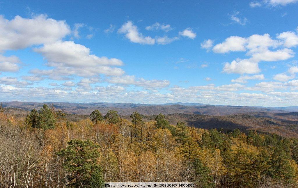 秋色山林图片_自然风景_旅游摄影_图行天下图库