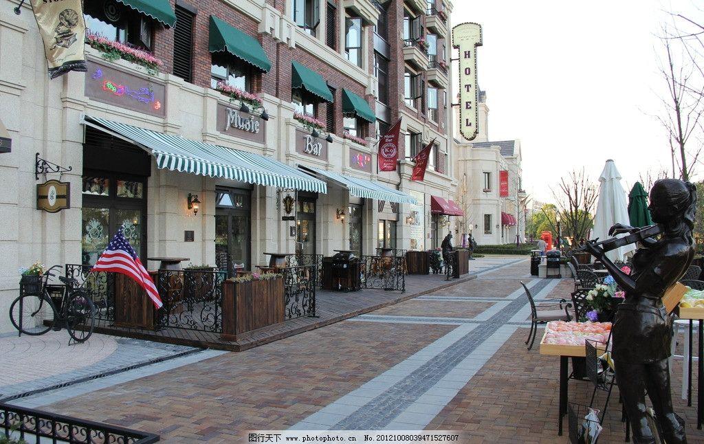金地艺华年 商业 咖啡厅 铁艺 欧式 复古建筑 建筑摄影 建筑园林 摄影