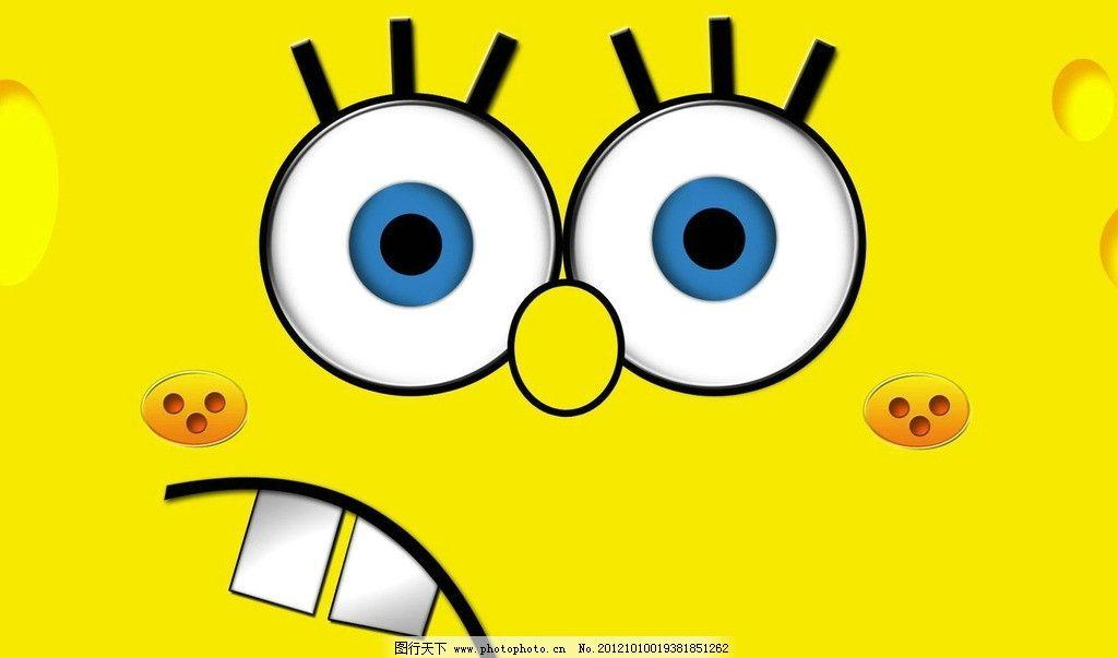 海绵宝宝 动画 黄色 可爱 电影海报 影视娱乐 文化艺术