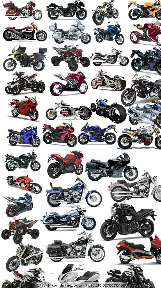 各式摩托车 摩托车 摩托 街车 公路赛摩托车 越野摩托车 三轮摩托 旅行车 二轮车 军用摩托 摩托跑车 路车 摩托车背景 赛摩托车 高档摩托 豪华摩托 各式摩托 各种摩托 时尚摩托 宝马摩托 解放摩托 概念摩托 杜卡迪 马拉古提 MV阿古斯塔 庞巴迪 意踏捷克 运动摩托车 道路摩托车 超级运动摩托车 美式摩托车 PSD分层素材 源文件 300DPI PSD
