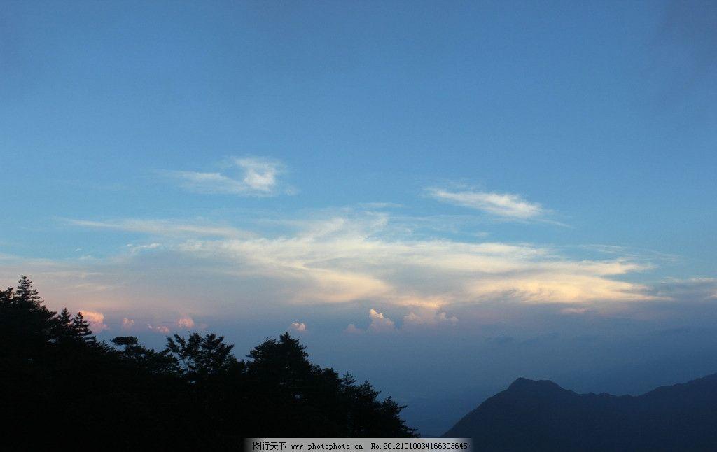 明月山 山顶 傍晚风光 自然风景 旅游摄影 摄影 72dpi jpg