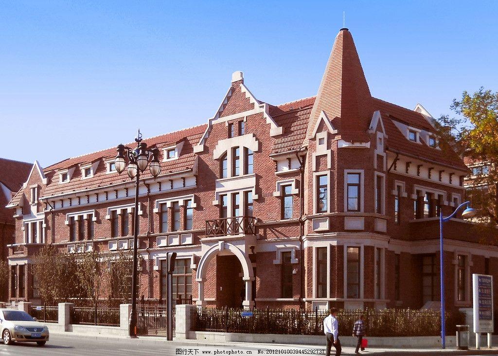 建筑艺术 德式建筑 德式风格 建筑装饰 装饰艺术 尖顶 外檐装饰 欧式