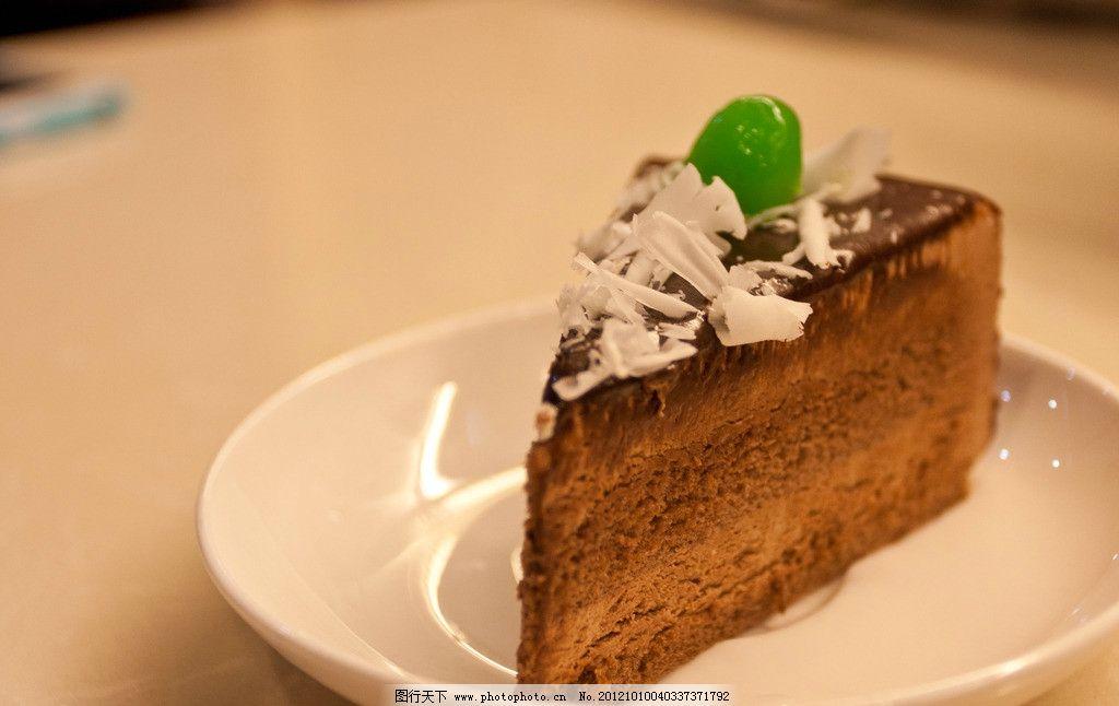 巧克力蛋糕 蛋糕 美味