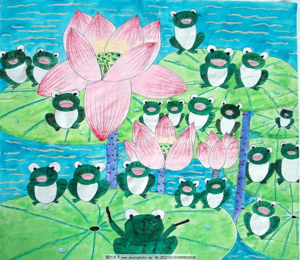 青蛙/唱歌的青蛙图片
