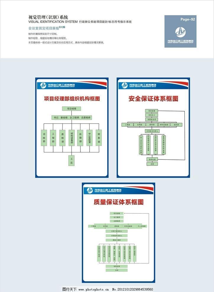 公路工程局vi 组织机构图