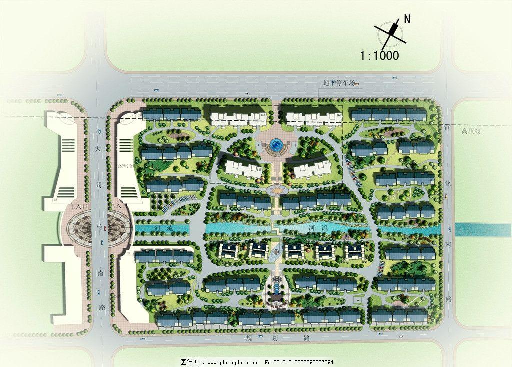 园林景观平面规划图片