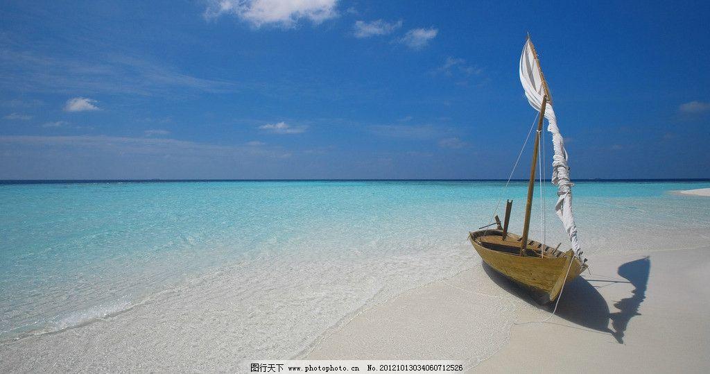 普吉岛的帆船 普吉岛 沙滩 沙子 美丽 海水 海边 旅游 印尼 国外旅游