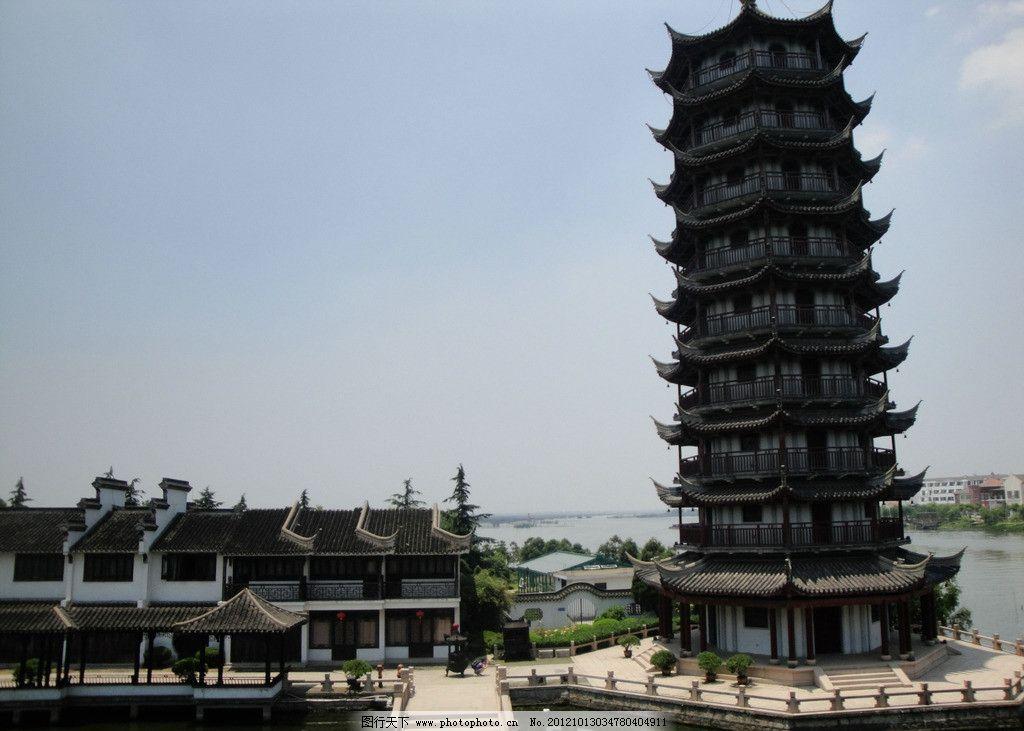 古代建筑塔图片