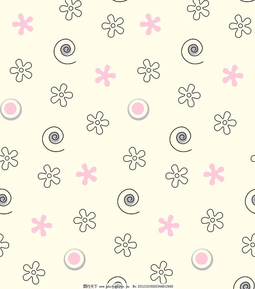 布匹印花纹 花纹 花朵 螺旋 花纹背景 花纹花边 圆圈花纹 花边花纹