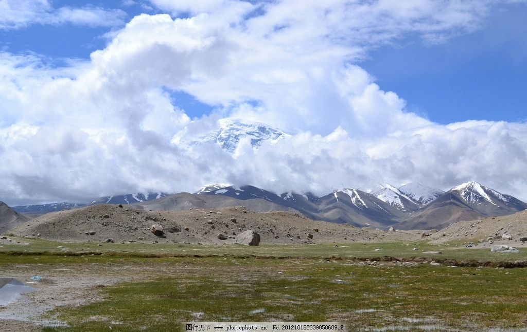 慕士塔格峰 新疆 塔什库尔干塔吉克自治县