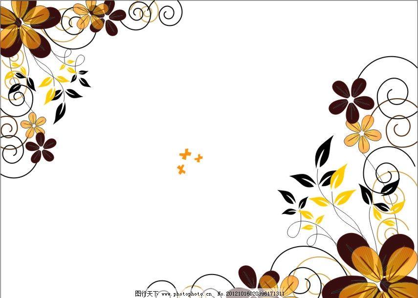 线条 花纹花边素材