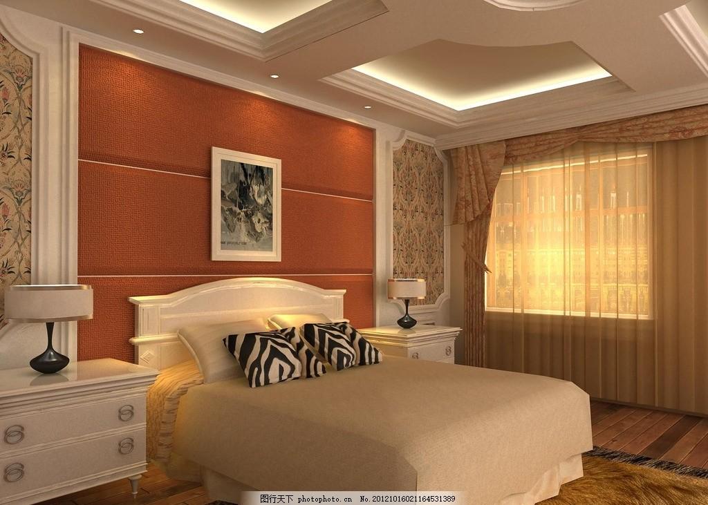 欧式元素的卧室