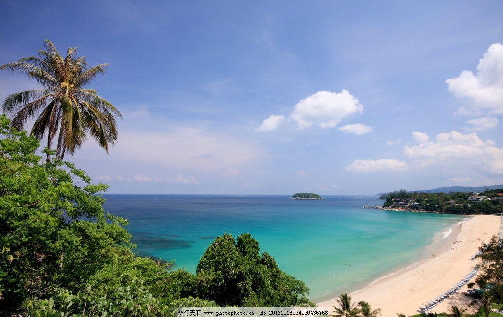 海边别墅度假村美景图片