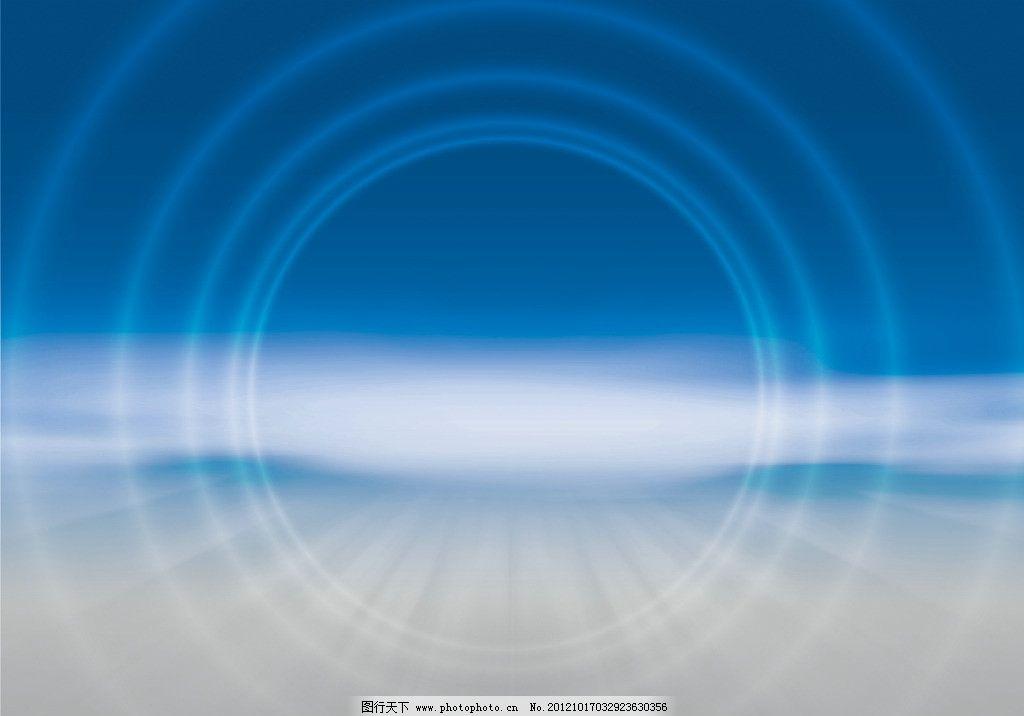 蓝光 光点 光晕 线条 圆点 交错 叠加 蓝色 抽象 空间 时尚 商务 科技