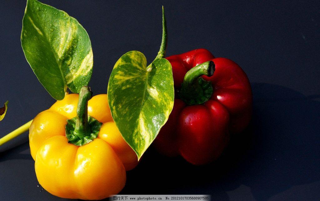 辣椒 红辣椒 青椒 食品 原料 食材摄影 蔬菜 生物世界 摄影 300dpi