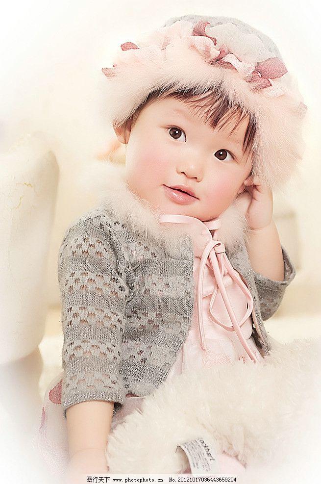 可爱宝宝照片 宝宝写真照 可爱宝贝图 人物照 儿童幼儿 人物图库 摄影