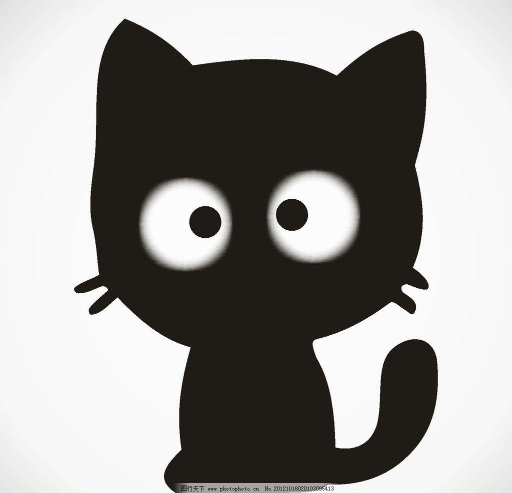 黑猫头像 黑猫 可爱