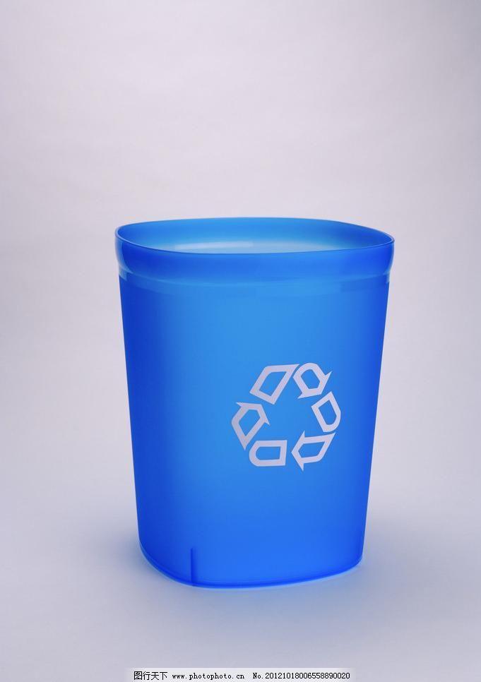 垃圾桶 循环利用图片_环保公益海报_海报设计_图行