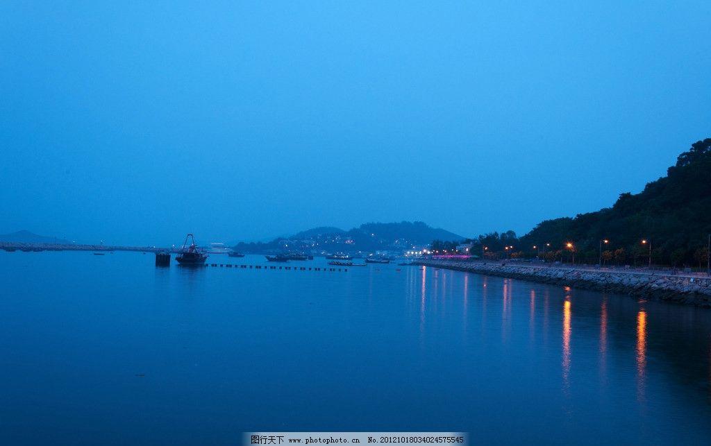 香港长洲岛夜景图片