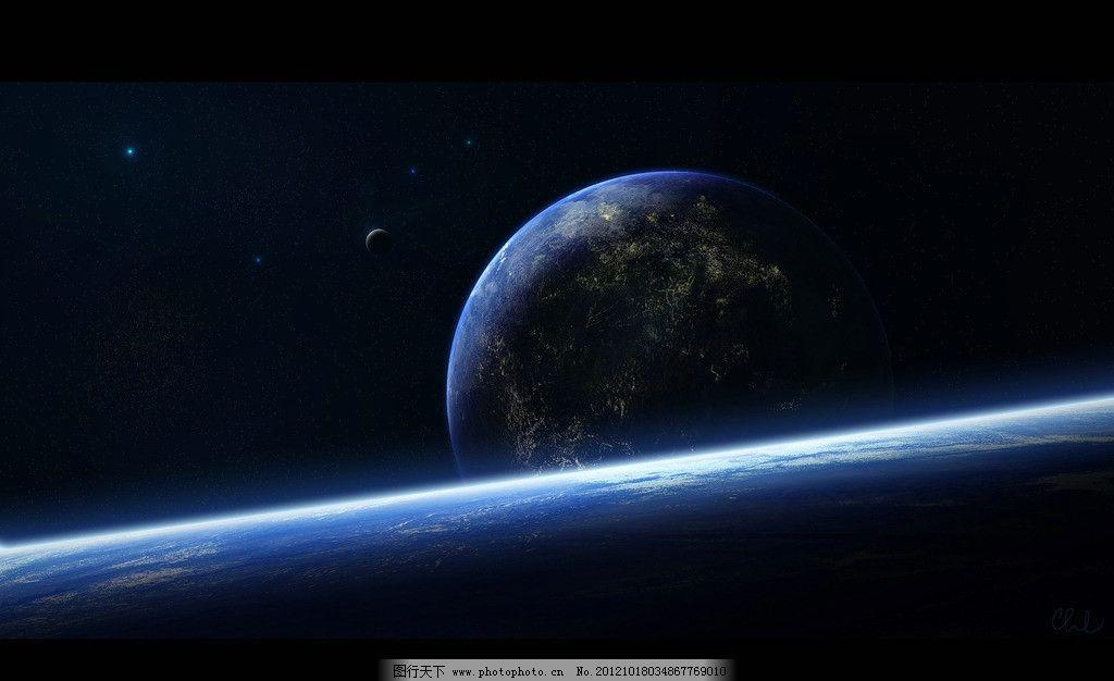 星球 外太空 太空 宇宙 地球 星系 星星 壁纸 星球表面 自然风景 自然