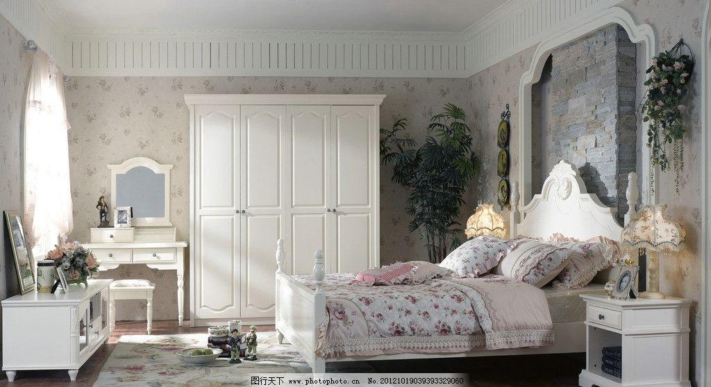 家具用品 家具 床 套房 欧式风格      家居艺术 柜子 室内摄影 建筑