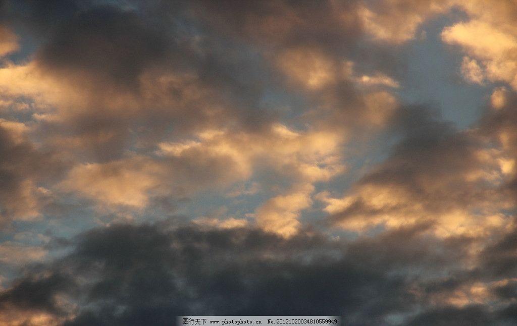 火燒云 黃昏 夕陽云朵 天空 云朵 日落的云 風景 自然風景 自然景觀