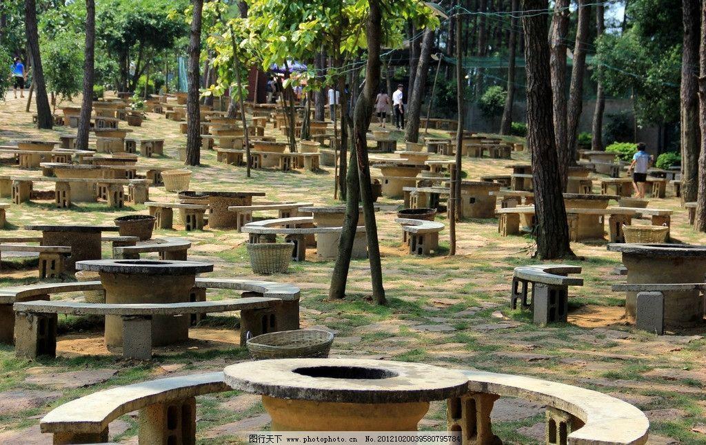 石门山森林公园 南宁 烧烤区 林荫 公园 园林建筑 建筑园林 摄影 72dp