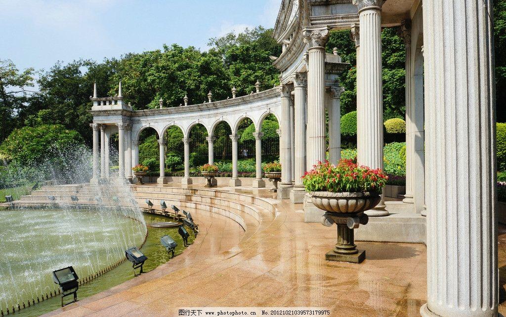 欧式建筑 柱子图片