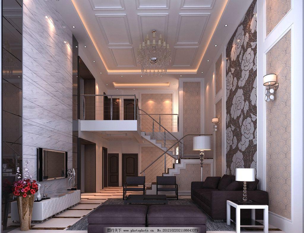 现代复式楼效果图图片图片