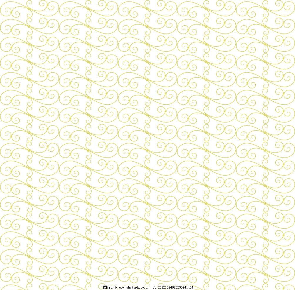 藤条 花纹 背景 黄色 清爽 淡绿 素雅 底纹背景 底纹边框 矢量 cdr