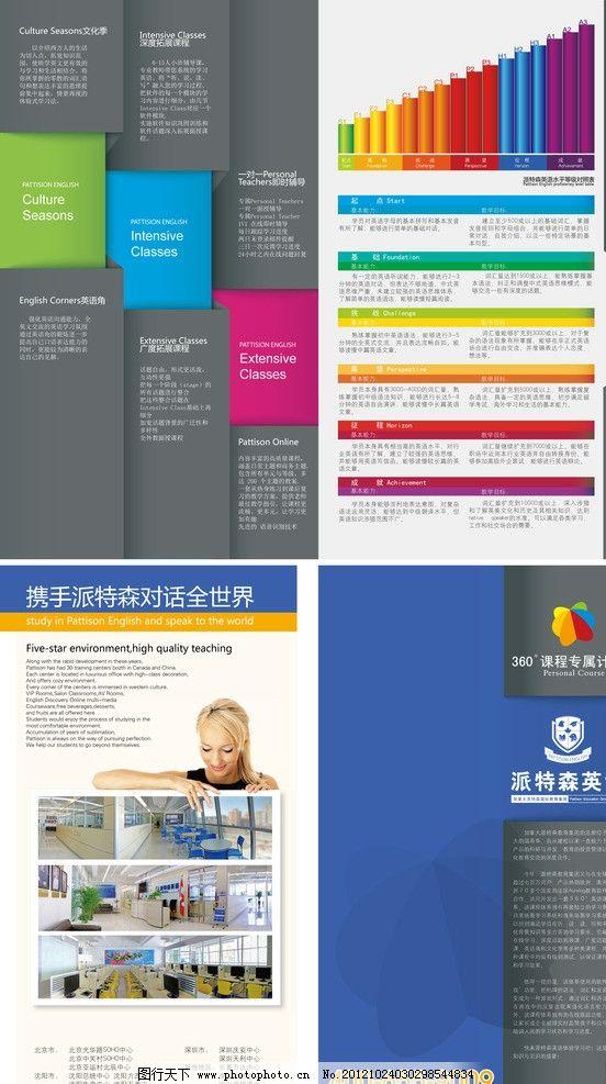 英语教育宣传单图片_展板模板_广告设计_图行天下图库