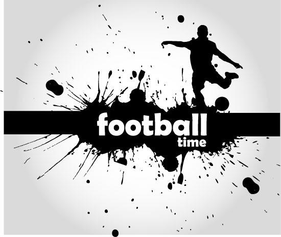 矢量足球运动体育海报