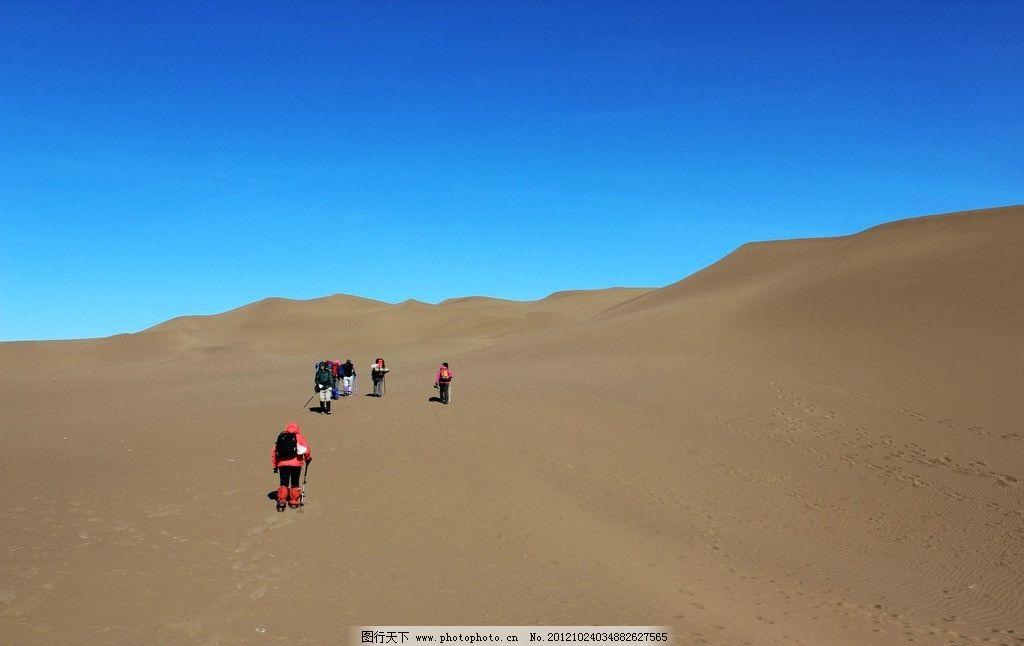 新疆鄯善库姆塔格沙漠风光图片