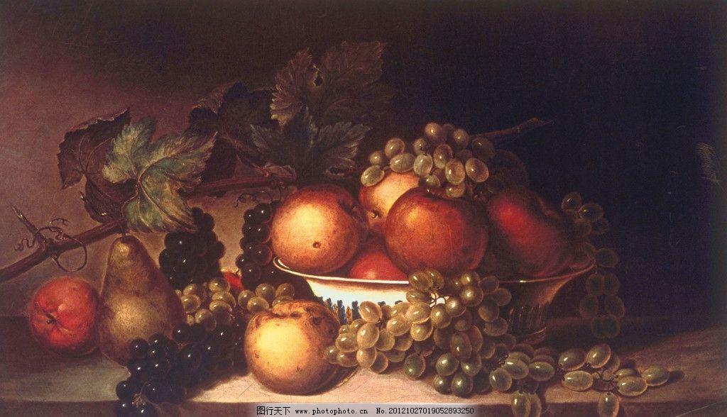 欧式水果装饰油画图片