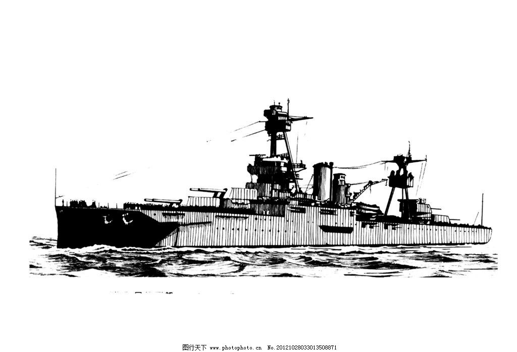 海军 航母 简笔画 舰 军事图片