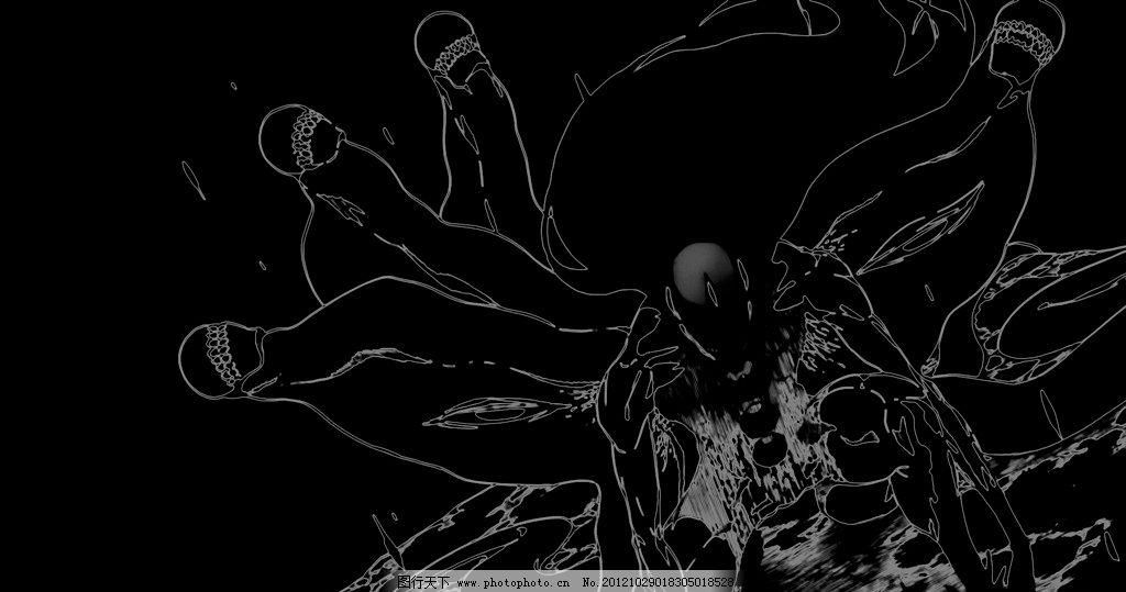 蝙蝠侠 勇士 战斗 美剧 手绘 披风 黑白 线描 动漫人物 动漫动画 设