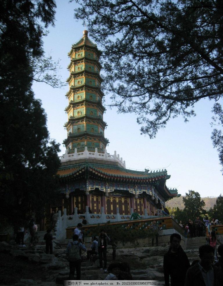 琉璃塔 北京香山 香山