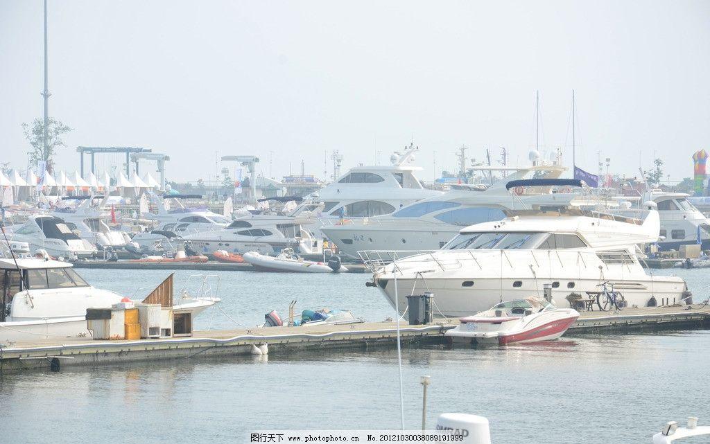 码头 青岛 游艇 帆船 大海 海边 交通工具 现代科技 摄影 300dpi jpg