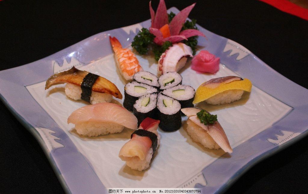 寿司拼盘图片