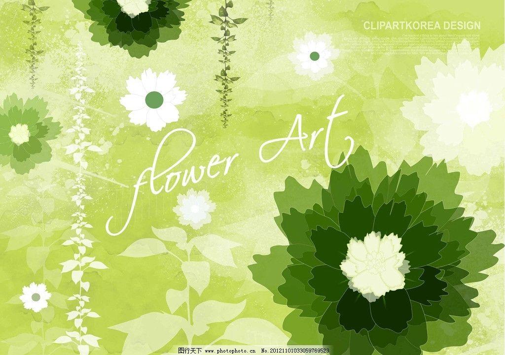 艺术绿色欧式墙纸