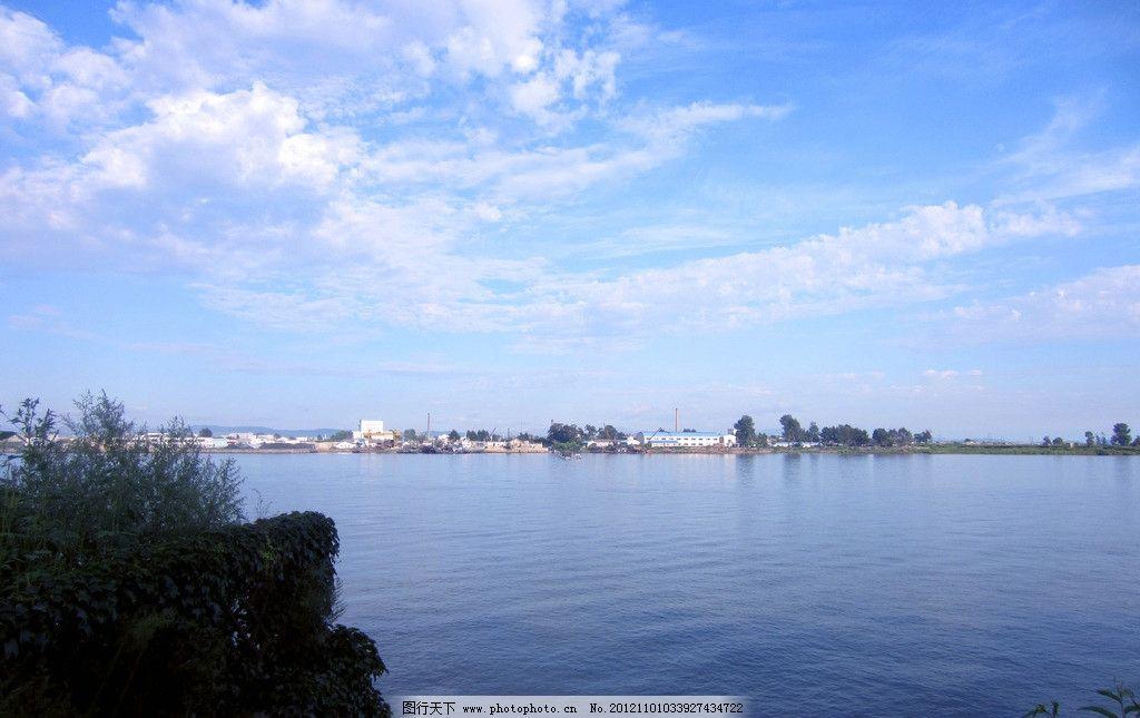 鸭绿江风景图片