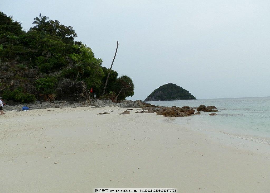 海岸 马来西亚 沙贝岛 无人岛 海岛 沙滩 旅游风景 国内旅游 旅游摄影