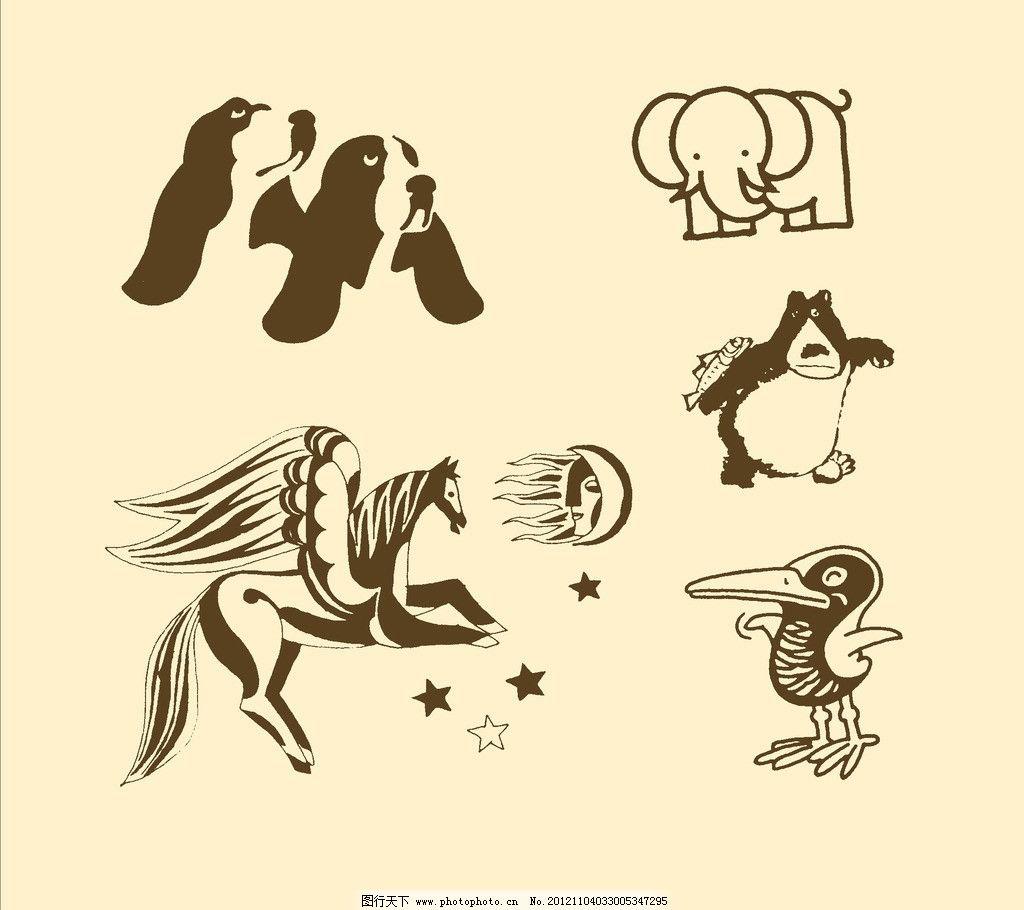 卡通桃树图片简笔画内容图片展示