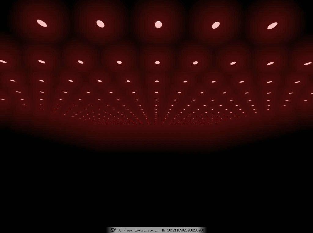 展台 渲染背景 红色 灯光 吊顶 背景底纹 底纹边框 设计 72dpi jpg