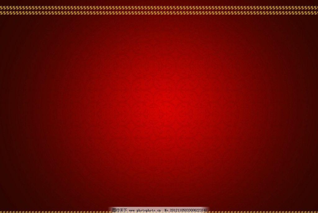 红色底纹图片 红色底纹 古典花纹 新年 过年 春节 喜庆 红色 花纹