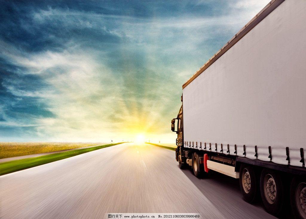 货柜车 汽车 卡车 货车 重卡 泥头车 重型汽车 运输 营运 摄影