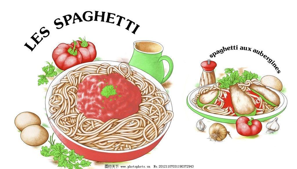 美味拉面 拉面 鸡蛋 西红柿 羊排 餐饮美食 生活百科 矢量 eps