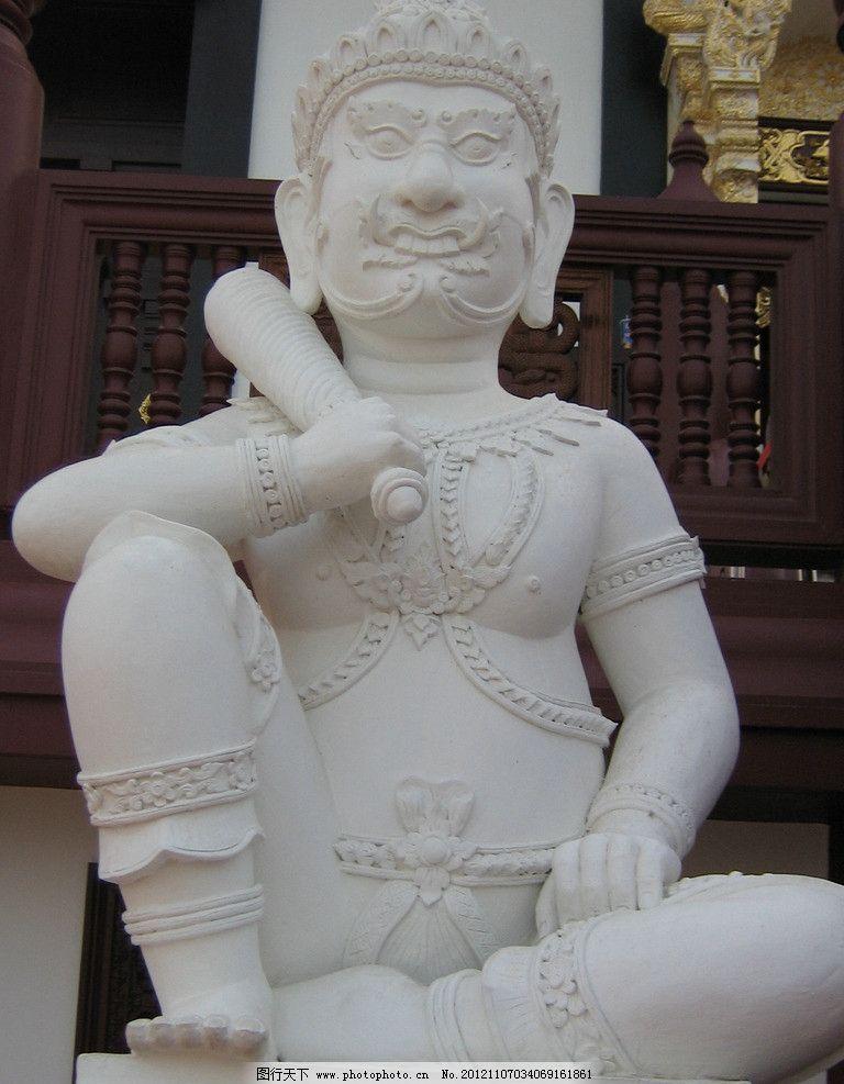 守护神像 东南亚风情 泰国 国外旅游 旅游摄影