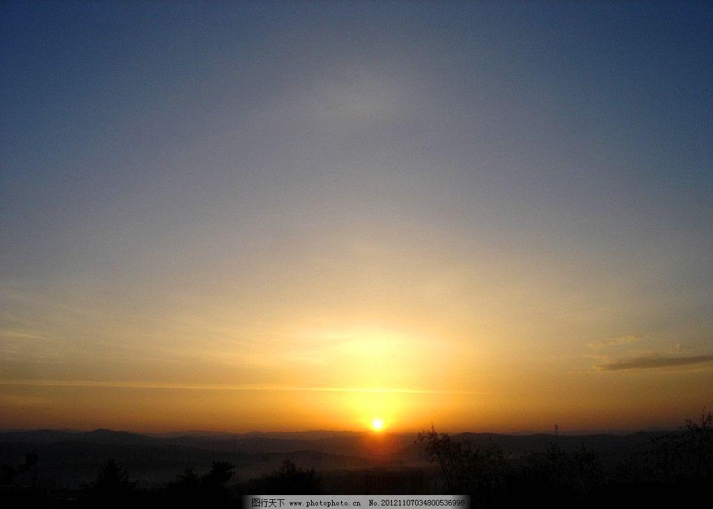 早晨的太阳 日出 太阳 天空 风景图片 风光摄影 美丽的天空 自然风景